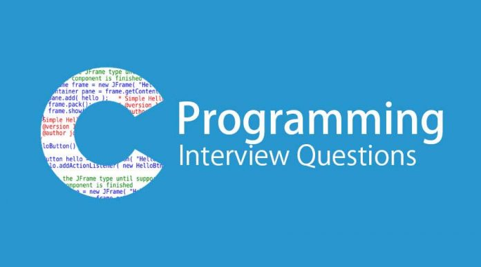 Interview Questions For C