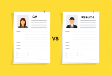 Whats is the Difference Between CV and Resume