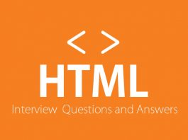 HTML Interview Questions and Answers For Freshers